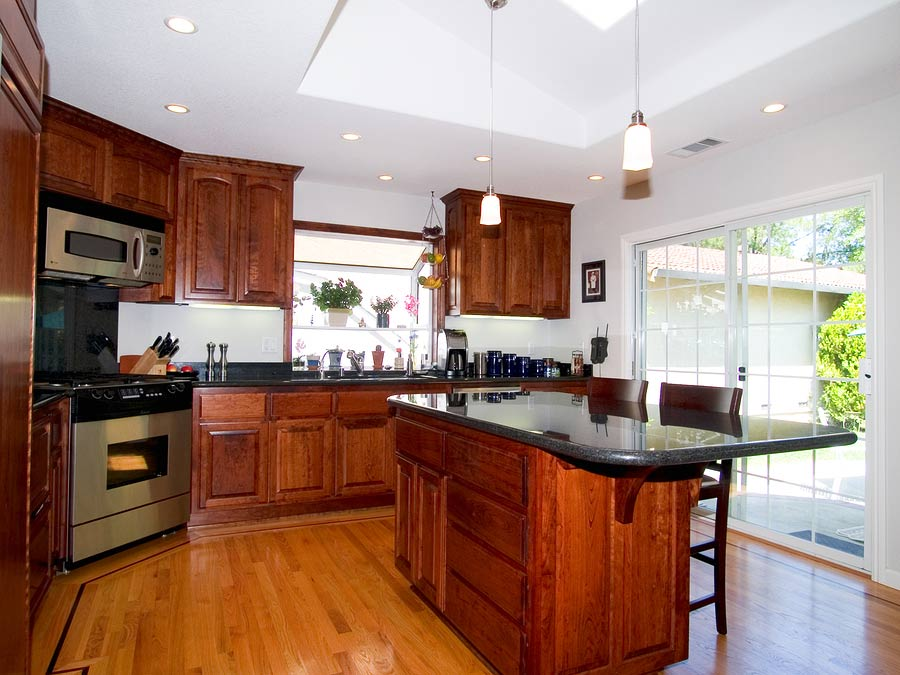 Modern Kitchen recently remodeled.