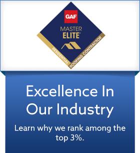 Certified GAF Master Elite Contractor